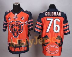 WOMEN Chicago Bears Eddie Goldman Jerseys