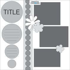 Making A Bridal Shower Scrapbook – Scrapbooking Fun! Scrapbook Layout Sketches, 12x12 Scrapbook, Scrapbook Templates, Scrapbooking Layouts, Digital Scrapbooking, Card Sketches, Bridal Shower Scrapbook, Page Maps, Birthday Scrapbook