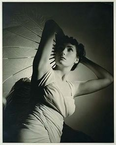 Fabienne Lloyd, youngest daughter of Mina Loy. Photographed by Man Ray.