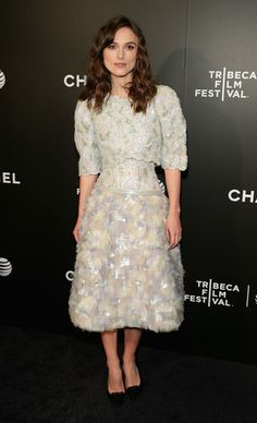 Keira Knightley at the 'Begin Again' Premiere - All The Times Celebrities Stunned in Chanel - Photos