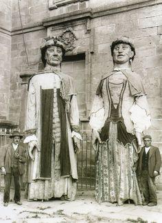 ∞ Xigantes en #SantiagoDeCompostela (1920) #Spain