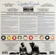 Lee Perry & The Upsetters - Sound System Scratch (back cover)