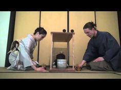 Tea Duet - YouTube. An amazing movie of a woman and man doing temae together on a daisu. They display two different schools of tea.