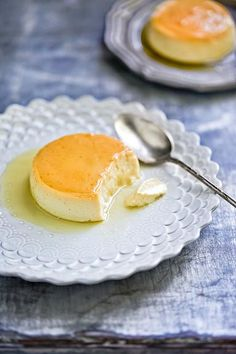 "CARAMEL COCONUT FLAN - Vegan - I'll try this with ""lite"" coconut milk to lower the saturated fat content."