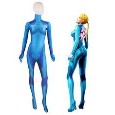 Samus-Aran-Zero-Metroid-Cosplay-Costume-Printing-Lycra-Bodysuit-Zentai-Suit