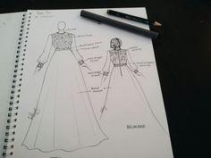 Long dress by LUHUNG