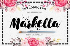 Markella Awesome Font by Katsia Jazwinska - free file week beginning 30th May