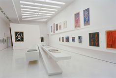 Installation view, Thannhauser Level 7 gallery, The Great Utopia: The Russian and Soviet Avant–Garde, 1915–1932, Solomon R. Guggenheim Museum, New York, NY, September 25, 1992–January 3, 1993. Photo: David Heald