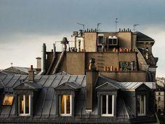 Resultado de imagem para paris toits