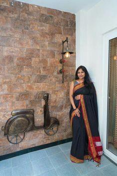 House entrance tiles foyers ideas for 2019 Main Door Design, Foyer Design, Ceiling Design, Pooja Room Door Design, Home Entrance Decor, House Entrance, Entryway Decor, Wall Decor, Indian Home Interior
