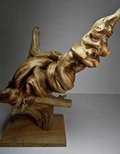 Isn't this cool?  It is a piece of driftwood; mother nature at her finest!