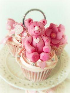Frivolous Fabulous - Pink Bear Cupcakes for Miss Frivolous Fabulous