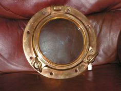 Genuine solid brass porthole