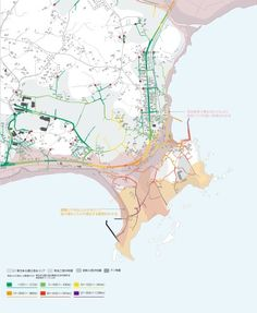 避難地形時間地図(通称:逃げ地図)|日建設計