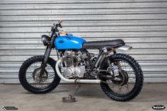 Honda CB 350 Scrambler By Dirty Seven
