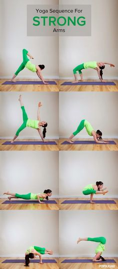 Arm Sculpting Yoga Sequence | Fit Villas