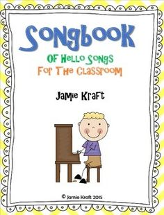 Every class should start out with a HELLO song to get the day started. Here is s FREEBIE of 10 songs that an teacher can use to say Hello and Good Morning! Songs Included in this booklet: Preschool Music, Kindergarten Fun, Music Activities, Teaching Activities, Greeting Song, Welcome Songs, Good Morning Song, Ways To Say Hello, Music Education