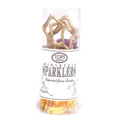 Little Obsessed - Mini Gold Star Sparklers, Pack of 4, $12.00 (http://www.littleobsessed.com/mini-gold-star-sparklers-pack-of-4/)