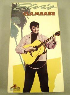 Clambake (VHS, 1967, MGM Home Video) Elvis Presley Vintage Film Movie Music $9.99 #ElvisMovies#ElvisFilm#musicVHS