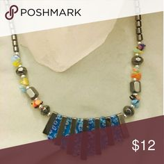 Beaded Necklace Multicolored beaded necklace Jewelry Necklaces