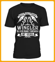 WINGLER Blood Runs Through My Veins - Shirts für singles (*Partner-Link)