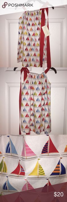 🆕 Sailboat Pillowcase Dress Girls Size 4 Adorable pillowcase dress! Girls size 4. Check out my other listings for girls clothes! I love giving great deals on bundles! Dresses
