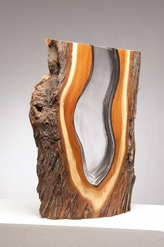 Wood & Glass Sculptures by Scott Slagerman – Ins. Wood & Glass Sculptures by Scott Slagerman – Inspiration Grid Wood Resin, Resin Art, Woodworking Techniques, Woodworking Projects, Holz Wallpaper, Mesquite Wood, Wood Trellis, Wood Mantle, Resin Furniture