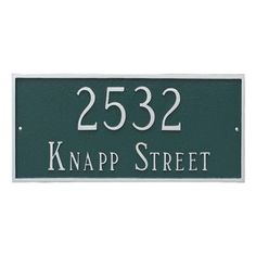 Montague Metal Products Classic Rectangle Two Line Wall Mount Address Sign Finish: Aged Bronze/Gold