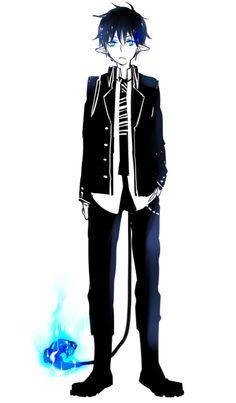 black exorcist anime | rin okumura # blue exorcist