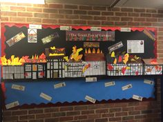 Year 2 Great Fire of London Display Spring Term 2015