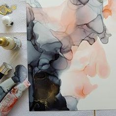 Sneak peak of a new painting. Swipe to see the finished result 🤗. Alcohol Inks, Abstract, Artwork, Painting, Instagram, Budget, Pictures, I Want You, Artist