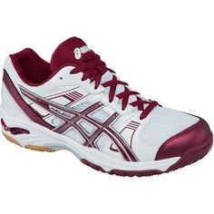 All Volleyball! ASICS Women's B450N Gel-Upcourt in Violet/Orange ...