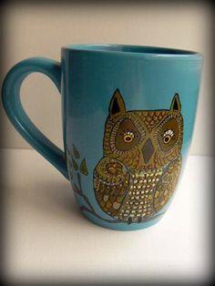 Very cool mug- I love mugs. :)