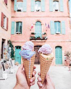 11.3 тыс. отметок «Нравится», 79 комментариев — Tatiana Vasilieva (@tattivasilieva) в Instagram: «Lavender ice cream in Provence 🍦  И ещё немного лавандового мороженого в Провансе с @sergeysuxov 🍦😋…»