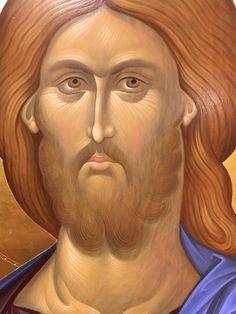 L'image contient peut-être: 1 personne Christ Pantocrator, Roman Church, Plant Illustration, Orthodox Icons, Son Of God, Sacred Art, Jesus Christ, Christianity, Catholic