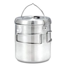 Solo Stove Pot 1800: Stainless Steel Companion Pot for Solo Stove Titan. Great for Backpacking -- Learn more by visiting the image link.