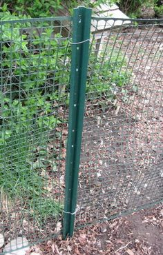 gate   post fence garden deer fence  post fence