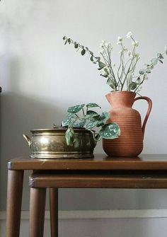 Brass Planter Mid Century Planter Gold Planter Brass Container Brass Pot Brass Vase Gold Pot Decorative Planters Brass Urn Small Planter