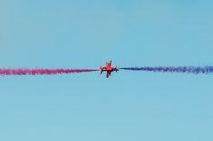 Red Arrows, Karup Airforce Base www.luftfotodanmark.dk