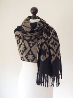 Oversized Merino Wool Scarf - Sun Song by VIDA VIDA h4KtyNt
