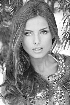 she is beautiful.