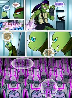 Teenage Mutant Mages Turtles Page 4 by GolzyBlazey on DeviantArt