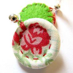 Singleton Earrings by *akka design*, via Flickr