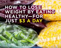 How to Lose Weight by Eating Healthy—for Just $3 a Day