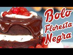 Bolo Floresta Negra - Cozinha pra 1 - YouTube