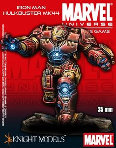 Marvel Universe Miniature Game Hulkbuster MK44 | Nerdvana Gaming