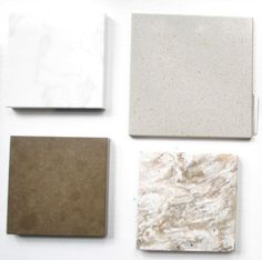 """top left Cambria quartz in """"Torquay"""" found at Kitchen & Bath Solutions via Young House Love"""