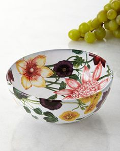 """Berry bowl made of ceramic stoneware. Oven, microwave, freezer, and dishwasher safe. 5.5""""Dia. x 2.5""""T; holds 15 ounces. Made in Portugal."""