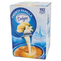 International Delight Flavored Liquid NonDairy Coffee Creamer French Vanilla 44 Oz Cups ** You can find more details by visiting the image link. (This is an affiliate link) Healthy Coffee Creamer, Dairy Free Coffee Creamer, Vanilla Coffee Creamer, French Vanilla Creamer, Homemade Coffee Creamer, Coffee Creamer Recipe, Vanilla Flavoring, Perfect Cup, Cups