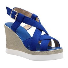 Trendy Wedge Heel and Cross-Strap Design Women's Sandals #>=#>=#>=#>=#> Click on the pin to check out discount price, color, size, shipping, etc. Save and like it!